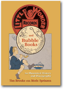 LITTLE WONDER AND BUBBLE BOOK 78 RECORDS - HISTORY & DISCOGRAPHY