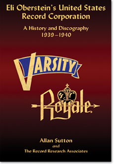 Varisty and Royale 78 records - History and Discography
